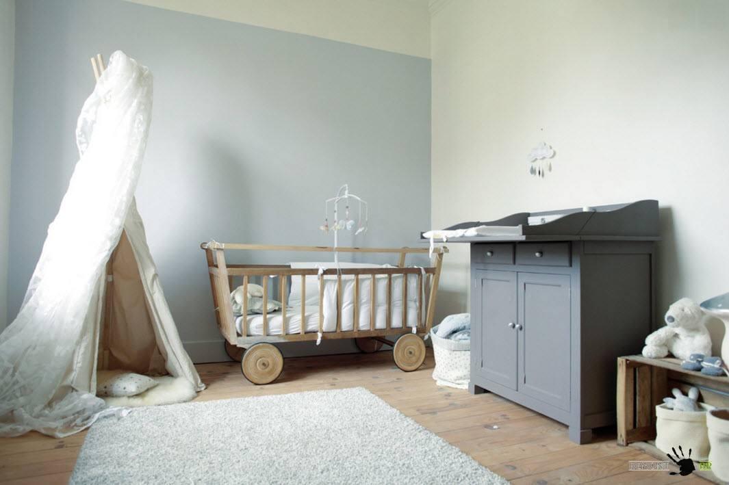 Оригинальная кроватка-телега