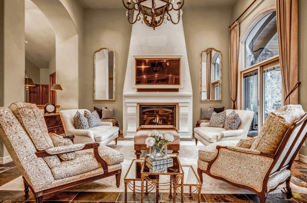 Гостиная без дивана - реальность