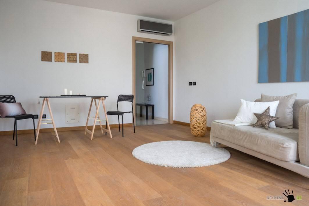 Минималистский интерьер современной гостиной