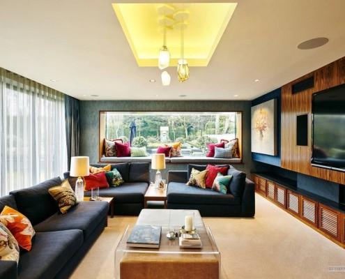 Актуальный дизайн гостиной