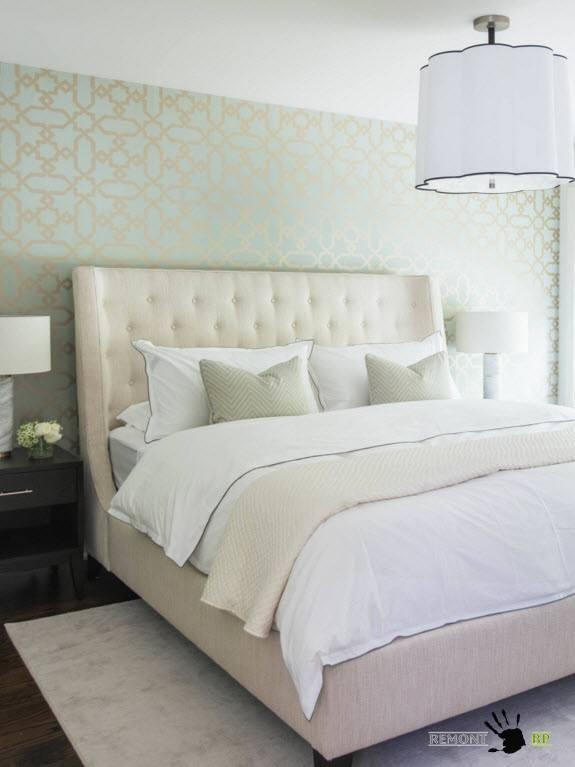 Нежный блеск для спальни