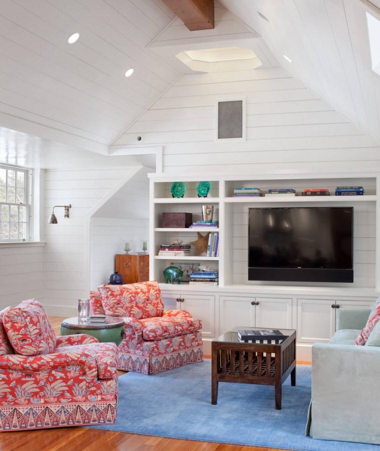 Белоснежные мебельные ансамбли
