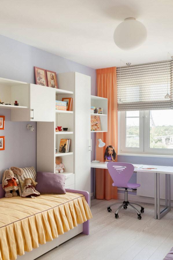 Вместительный шкаф для детской