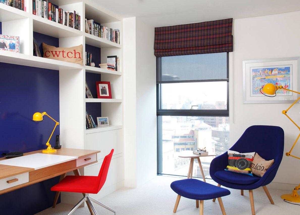 Дизайн комнаты для ребенка-школьника