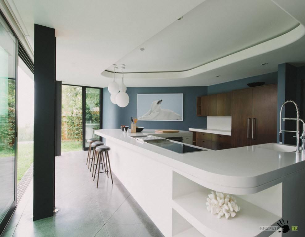 Разноуровневый потолок