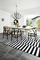 Контрастный дизайн шведского частного дома