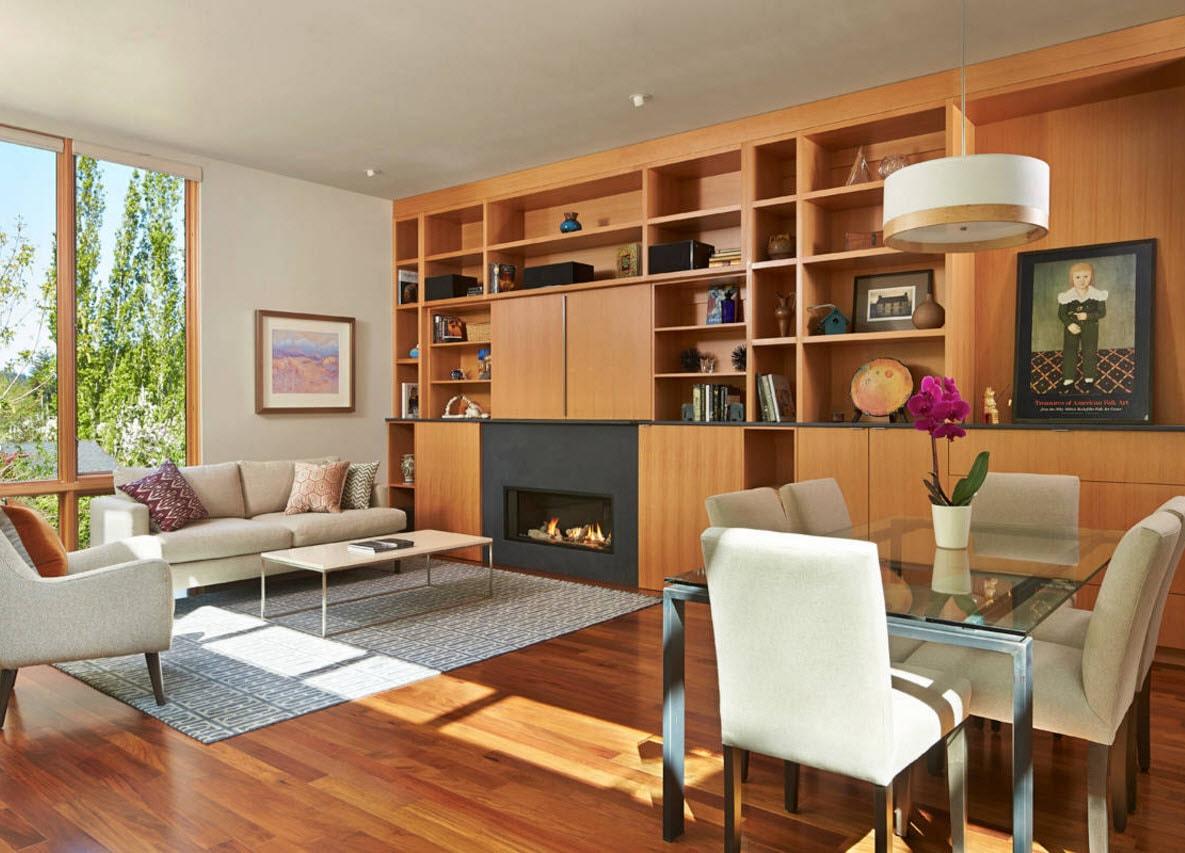 Встроенная система для гостиной