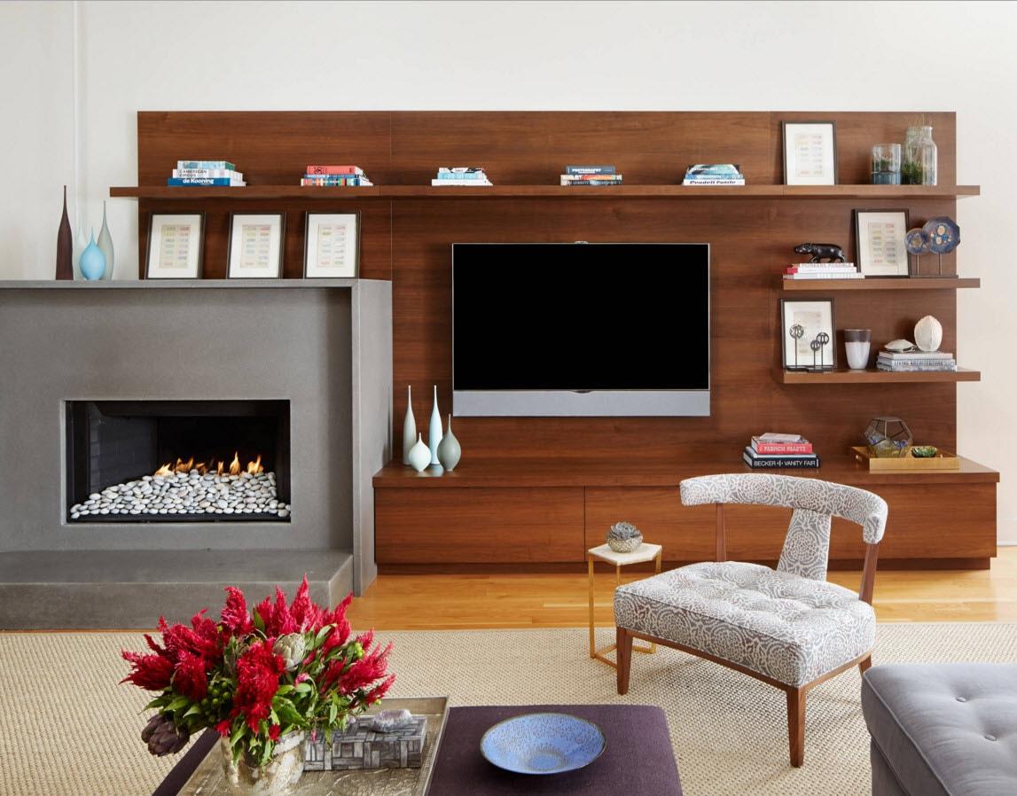 Мебельное решение для гостиной