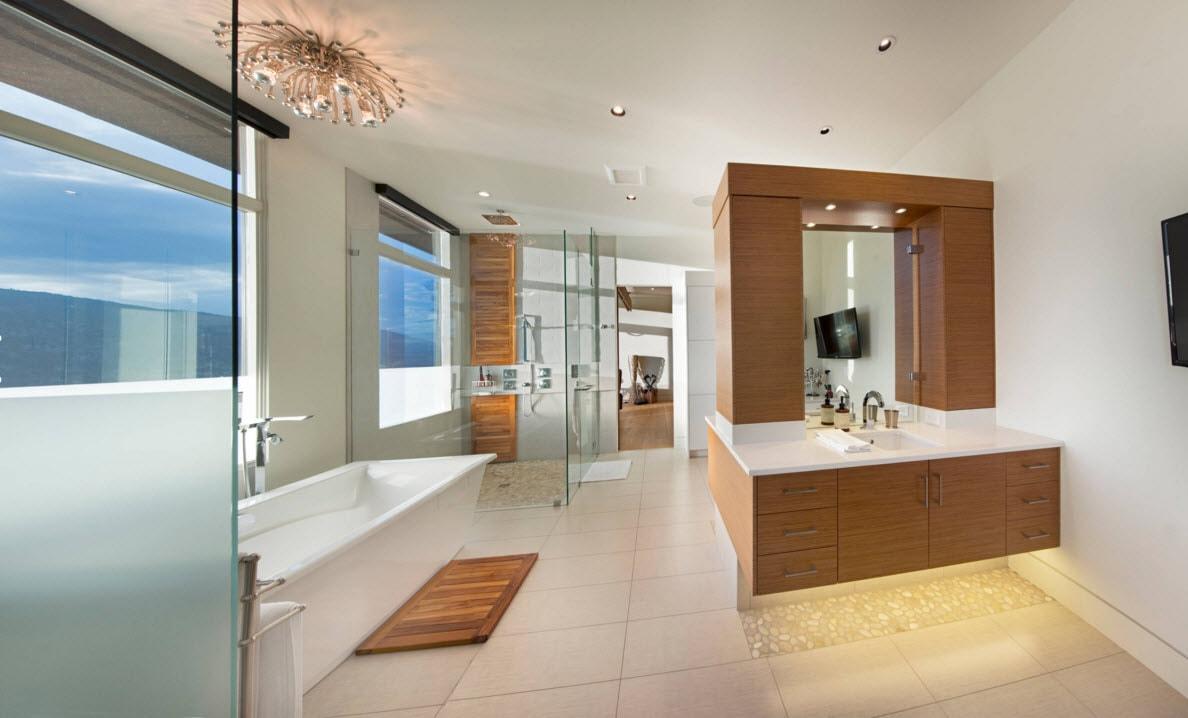 Дизайн просторного утилитарного помещения