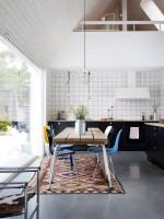 Интерьер в скандинавском стиле загородного дома
