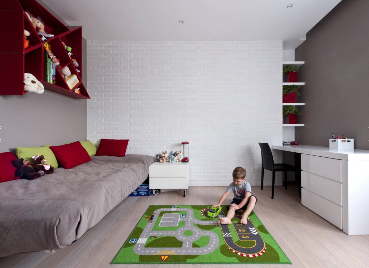 Комната для мальчика 3-5 лет