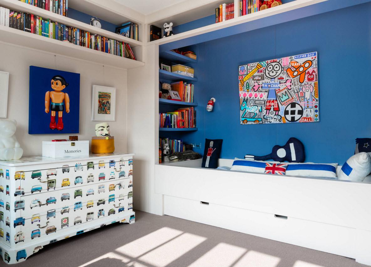 Уютная комната для мальчика