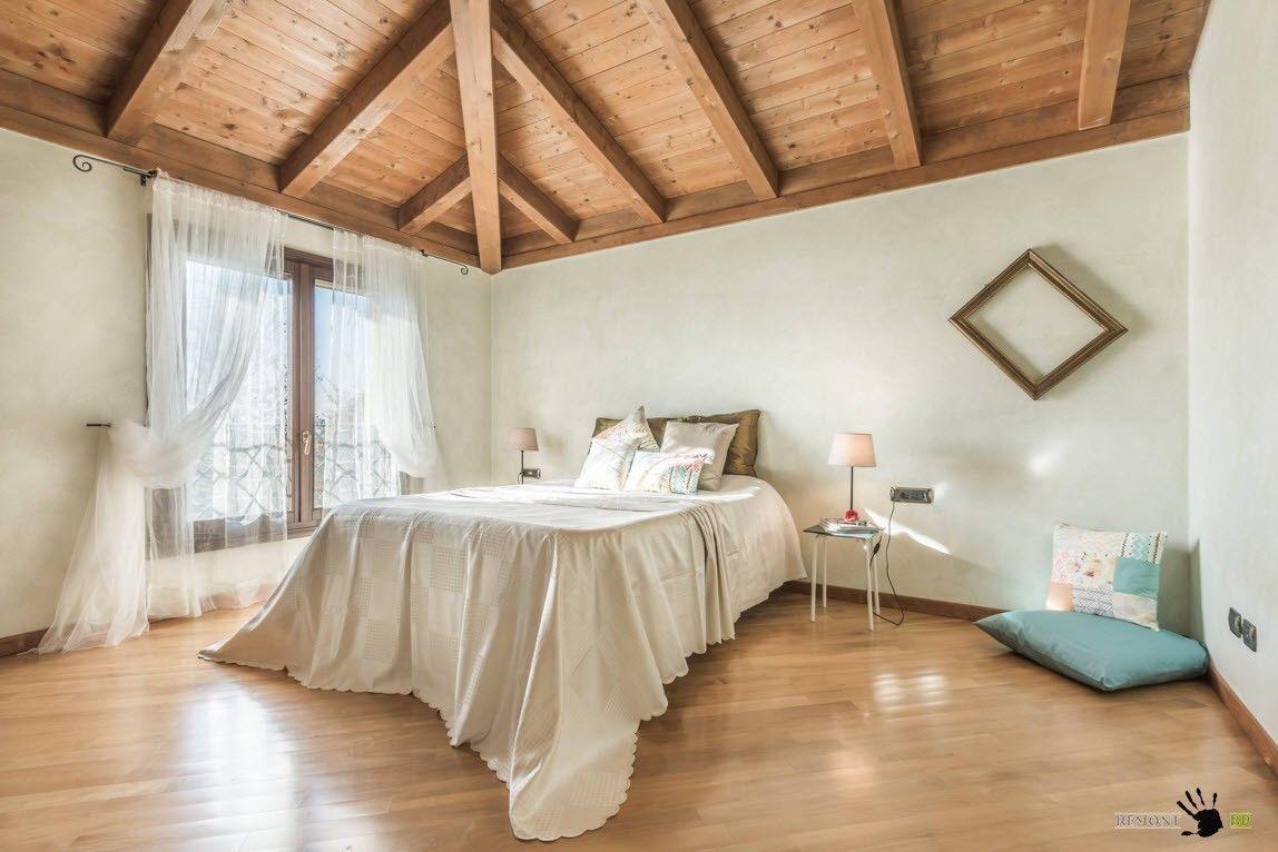Спальня в сельском стиле