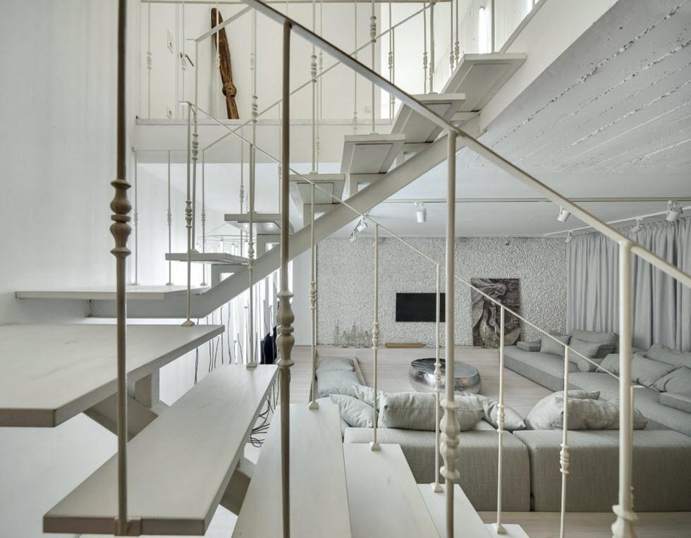 Белоснежная лестница