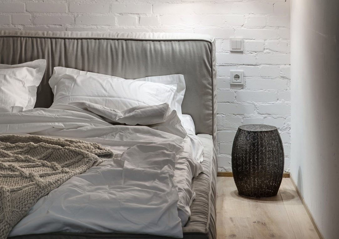 Мягкая обивка каркаса кровати