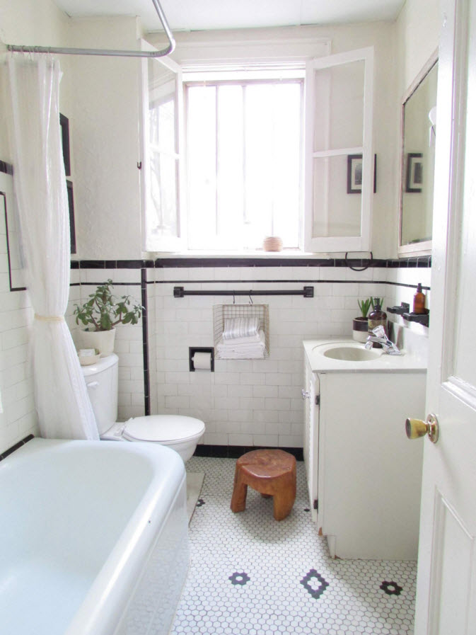 10 Gorgeous Black And White Bathrooms  HuffPost