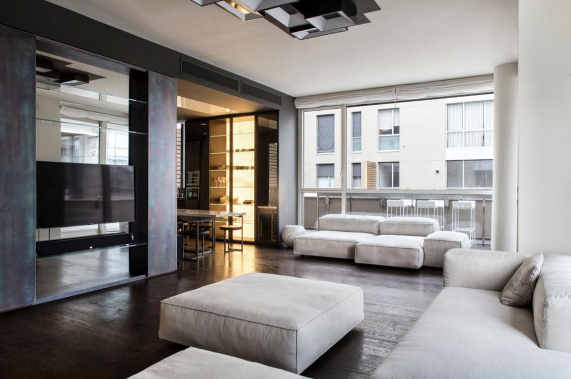 for Hi tech living room designs