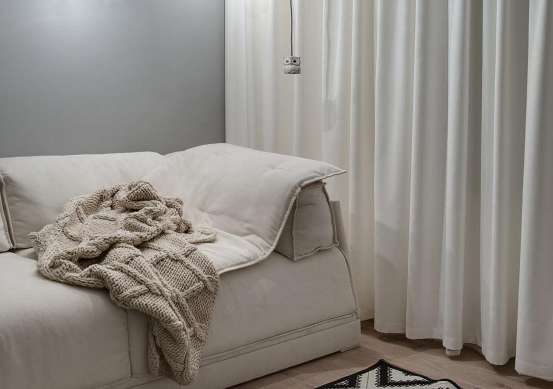 Текстильное оформление частного дома в Киеве