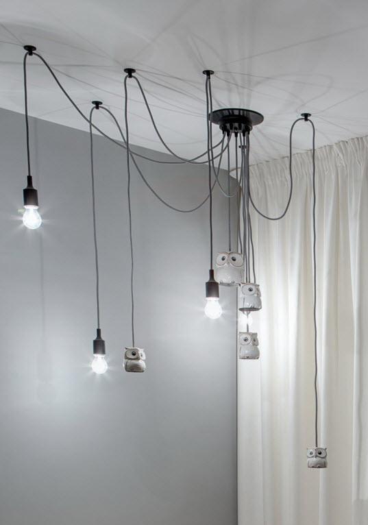 Оригинальная световая инсталляция