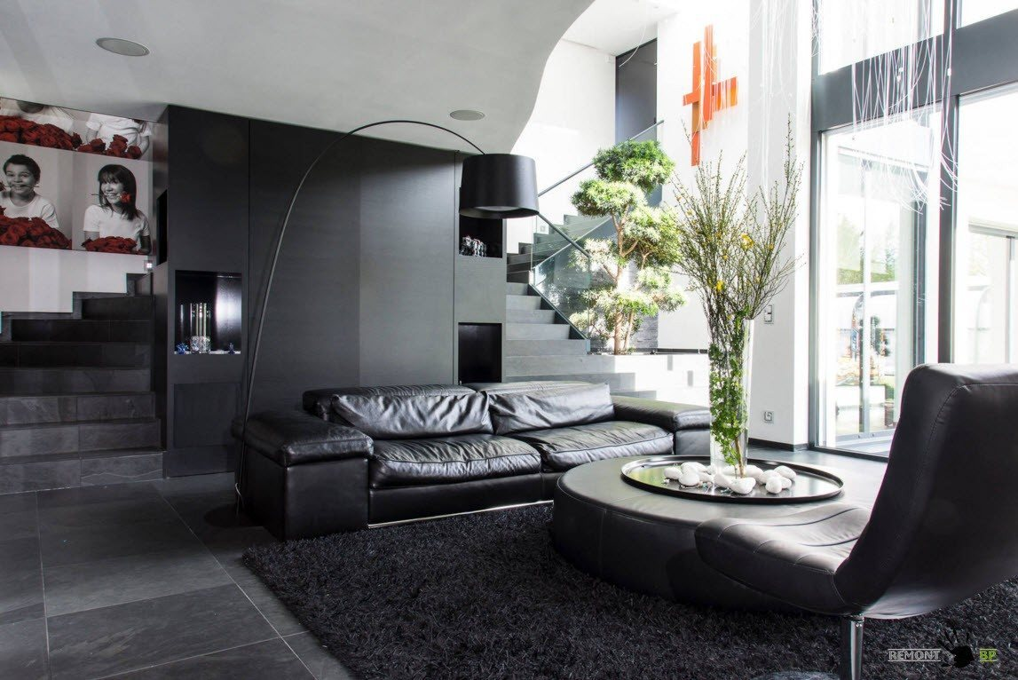 Черная мебель: 100 лучших фото идей для интерьера