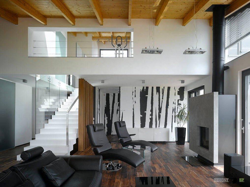 Современный стиль в загородном доме