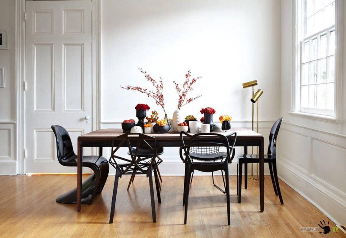 Изящные стулья дизайнерской работы