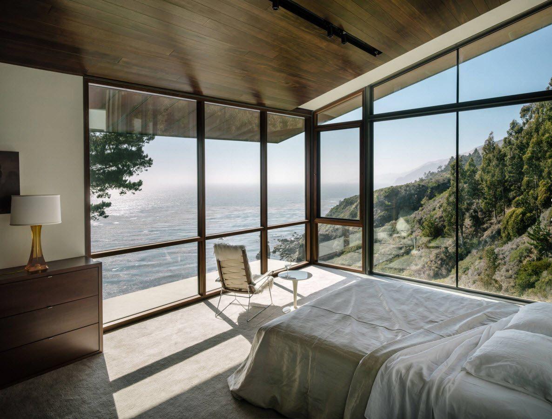 Спальня с роскошным видом из окна