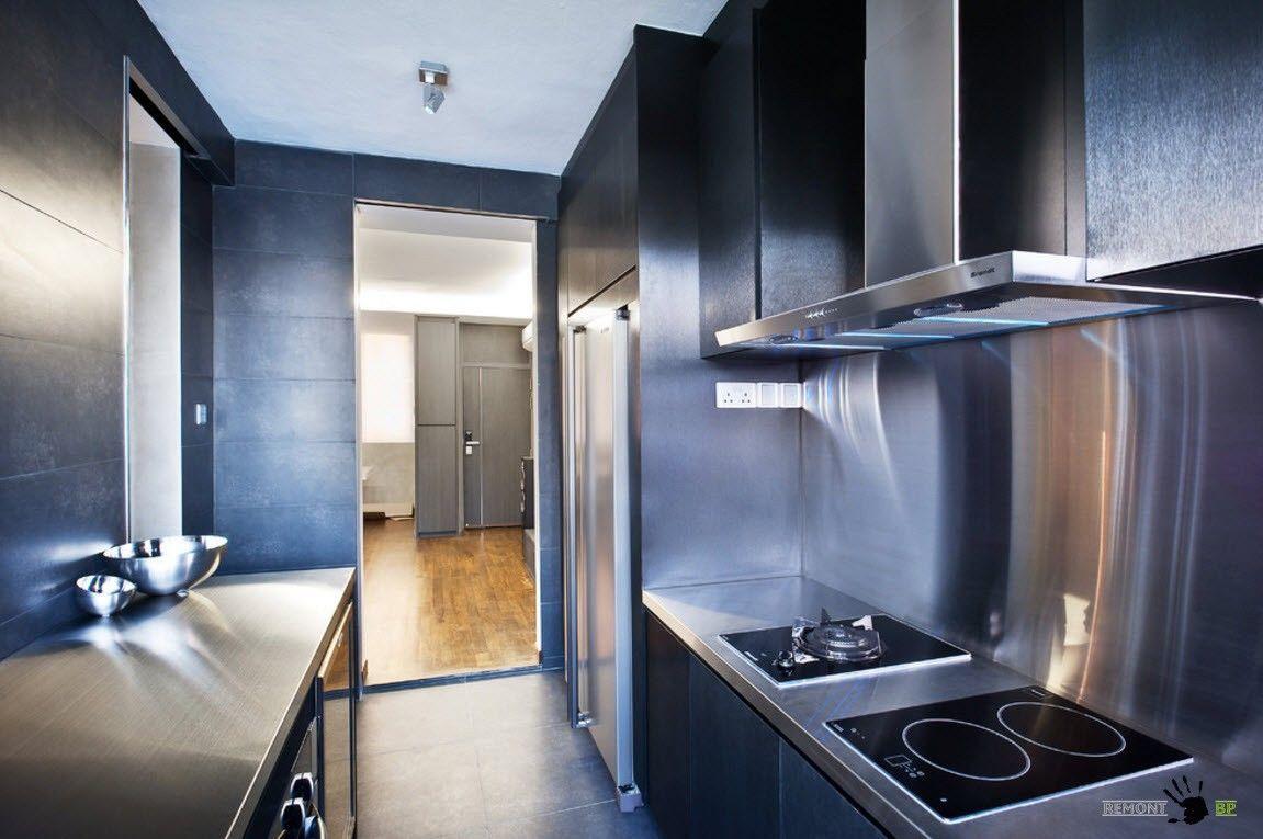 Черные поверхности для кухни