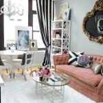 Шторы в гостиную – новинки дизайна 2016