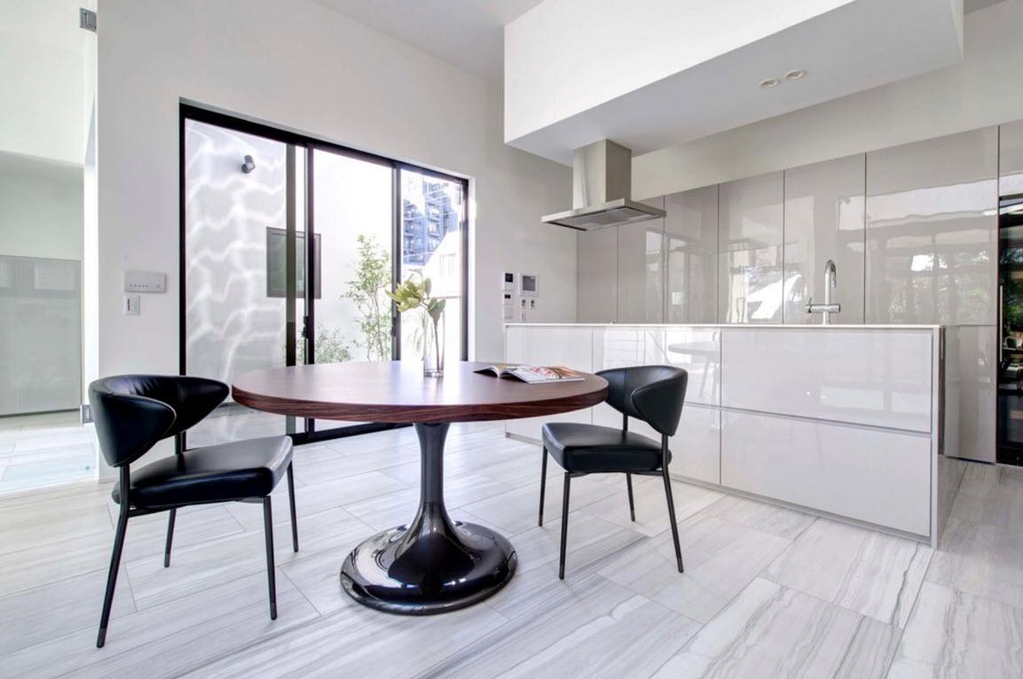 Современное и технологичное кухонное помещение
