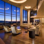 Панорамные окна в современном интерьере