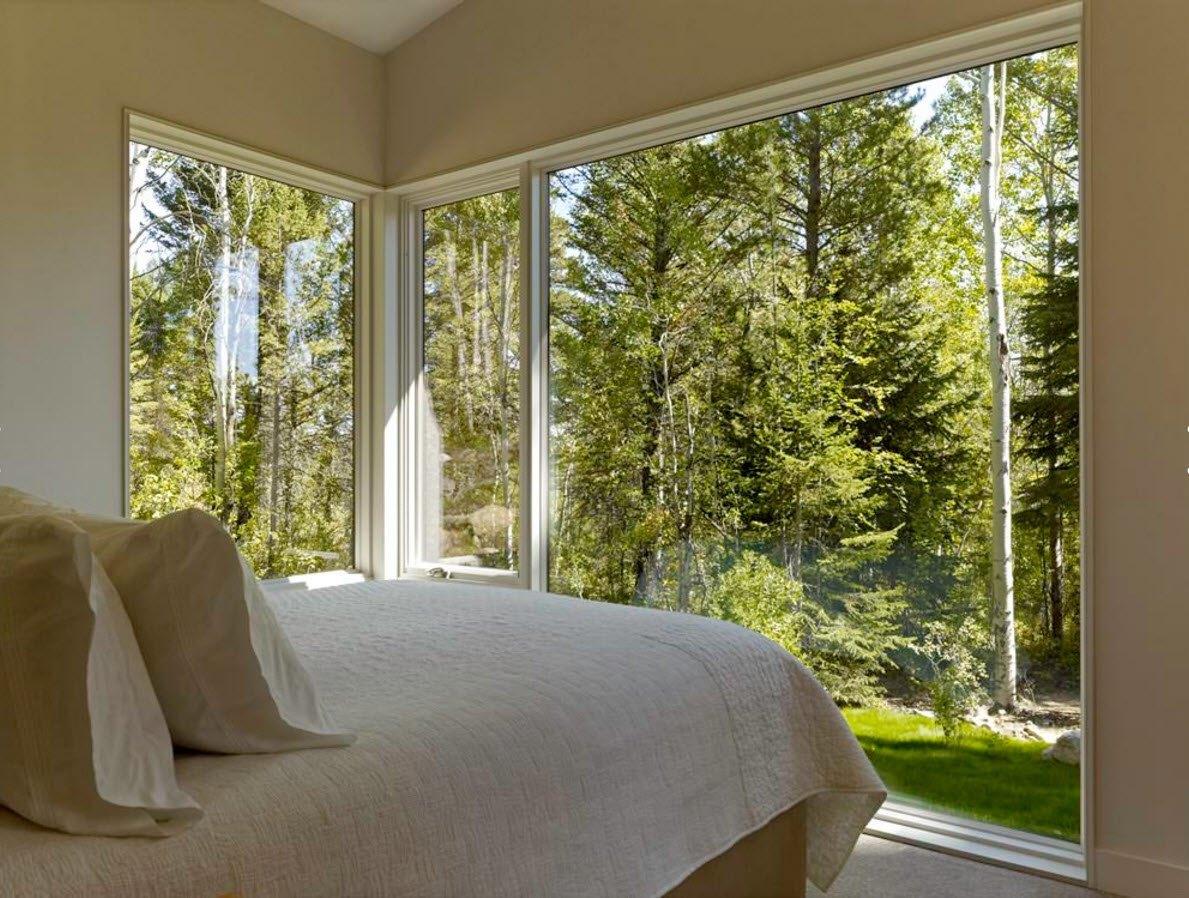 Угловое панорамное окно