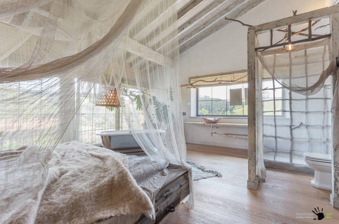 Оригинальная спальня и дизайн