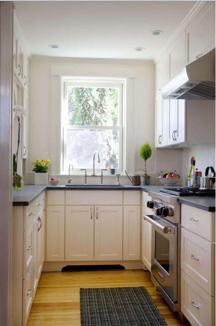 Дизайн кухни скромных размеров