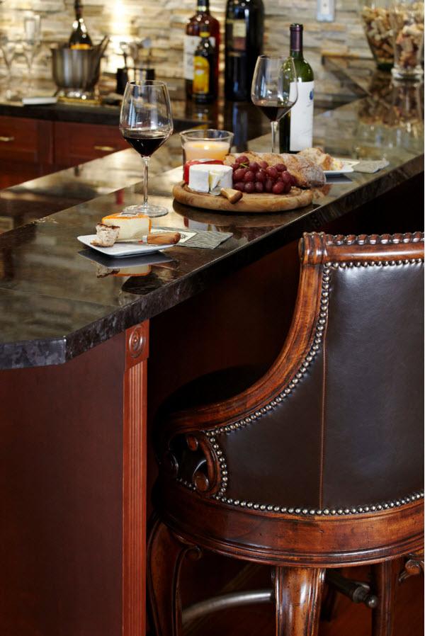 Роскошные барные табуреты-кресла