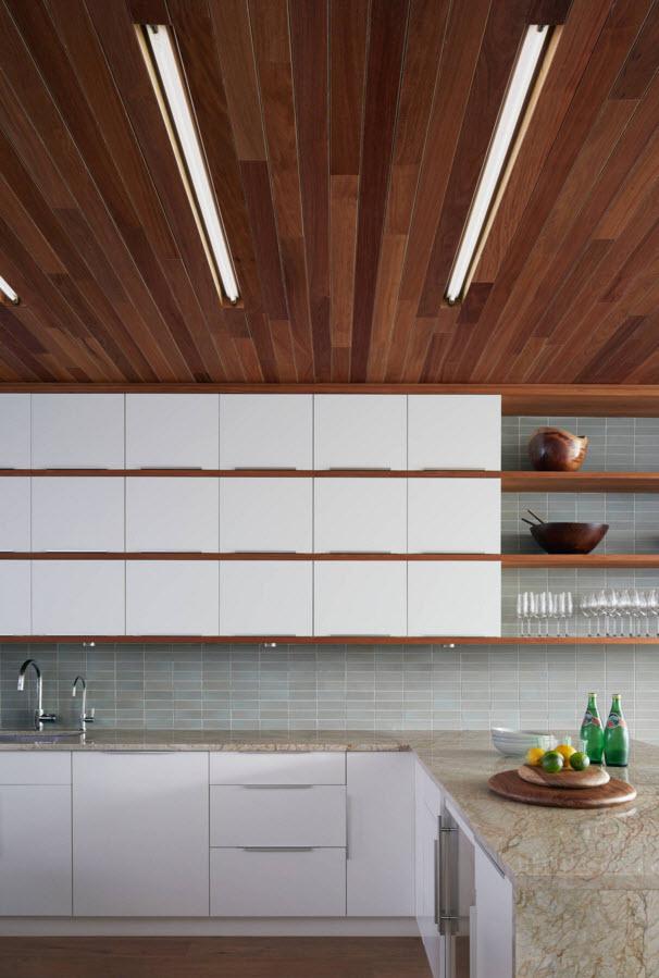 Оригинальный способ отделки потолка