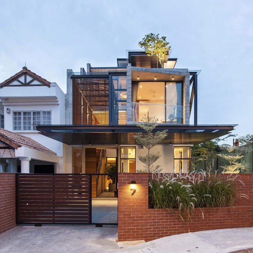 Проект креативного частного дома