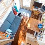Удивительный дизайн-проект дома на колесах