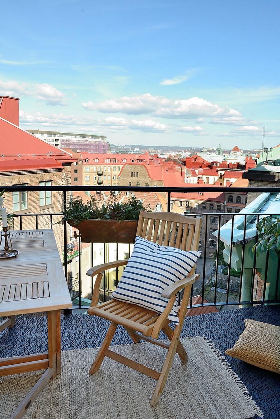 Садовая мебель для уютного обустройства балкона