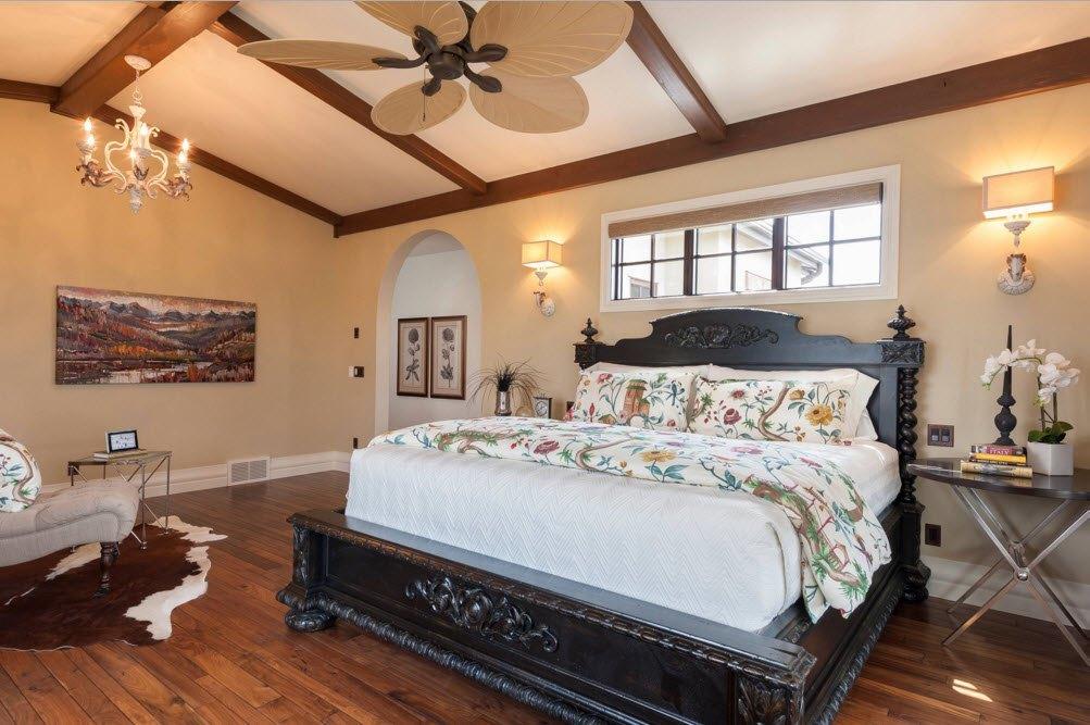 Классическая спальня на новый лад