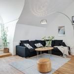 Скандинавская стилистика в современной шведской квартире