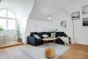 Интерьер шведской квартиры в скандинавском стиле