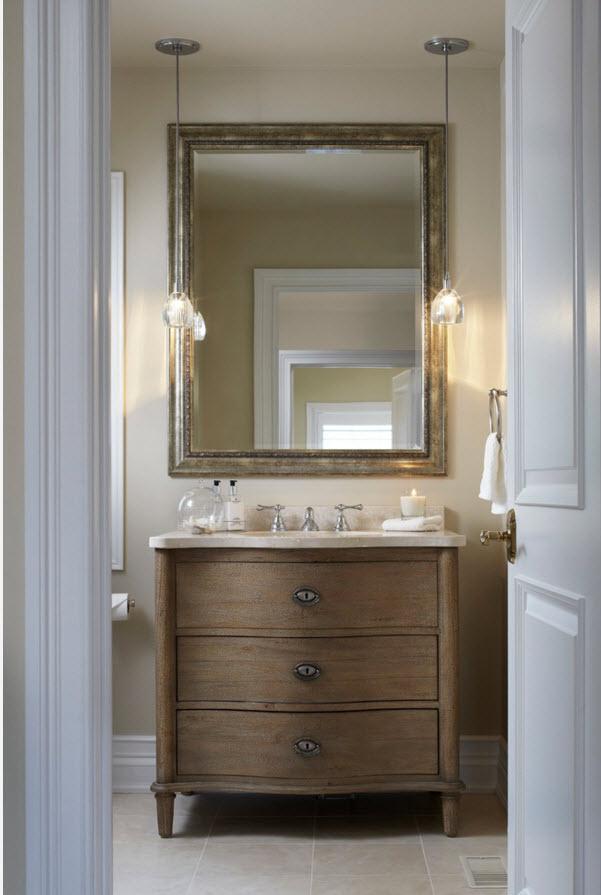 Классические системы хранения для ванной