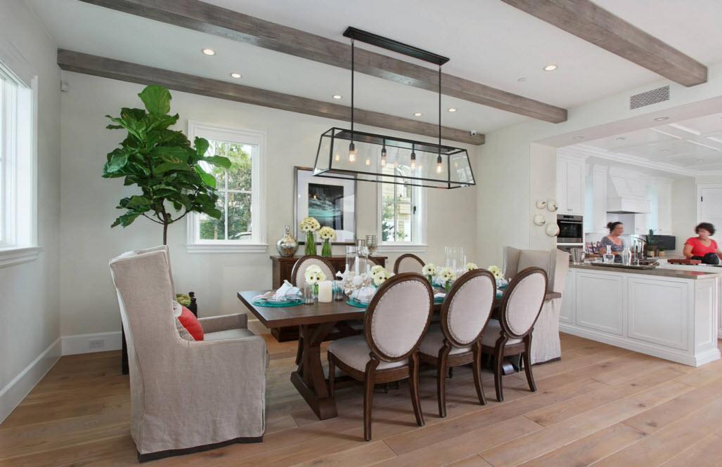 Неоклассика для кухни и столовой