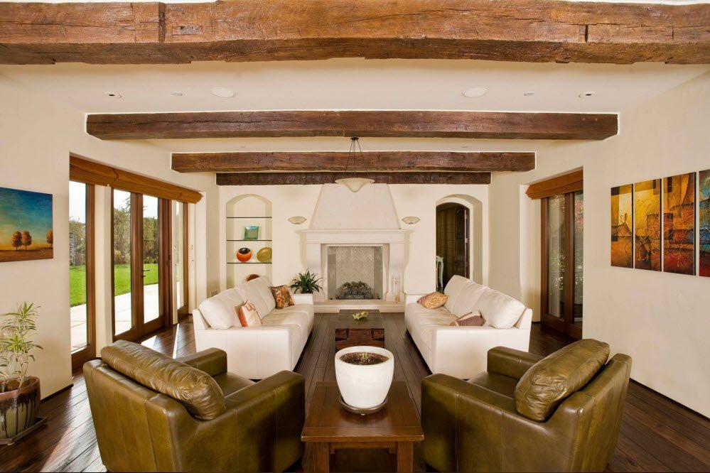 Уютная атмосфера гостиной