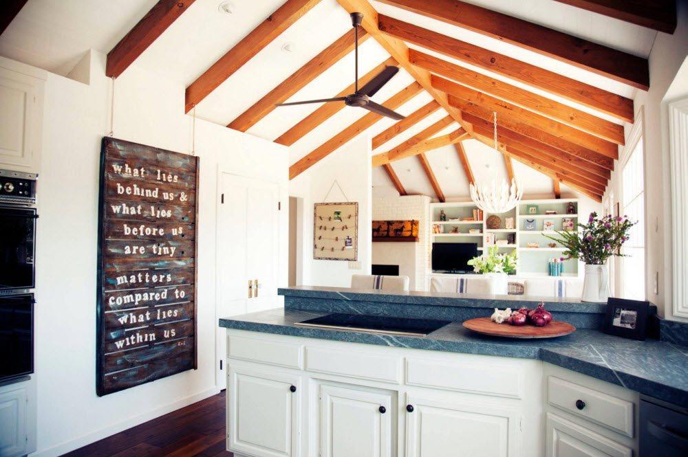 Конструктивное решение для декора потолка