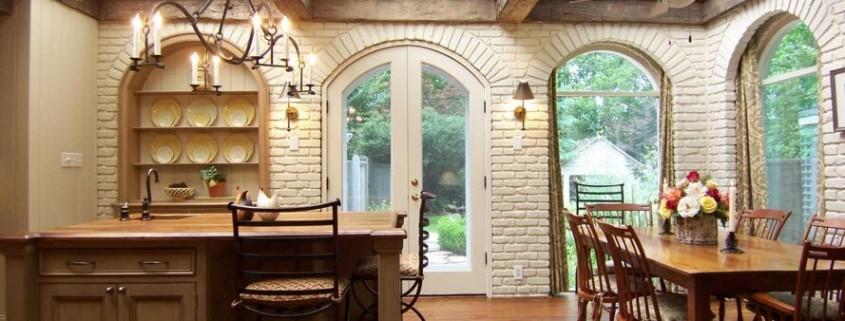 Потолочные балки как способ декорирования современных помещений