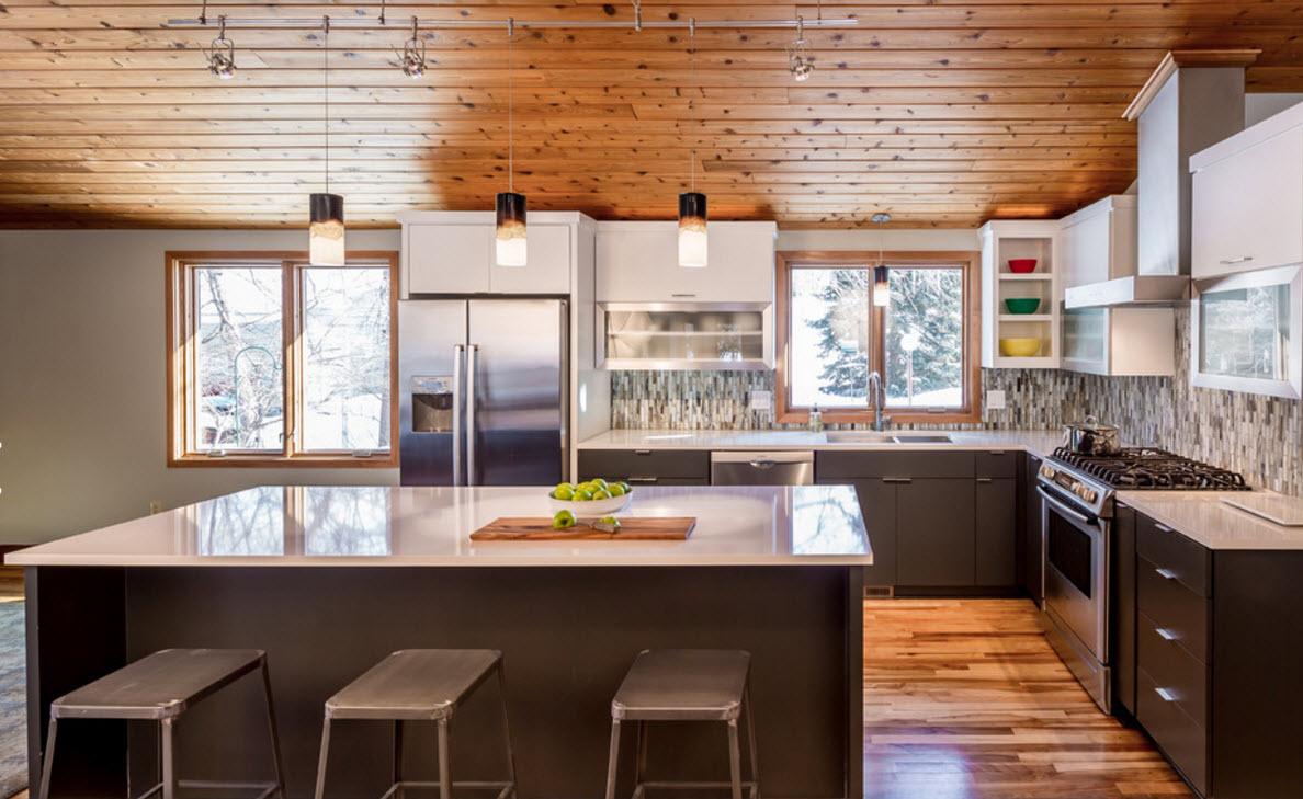 Удобная кухонная зона