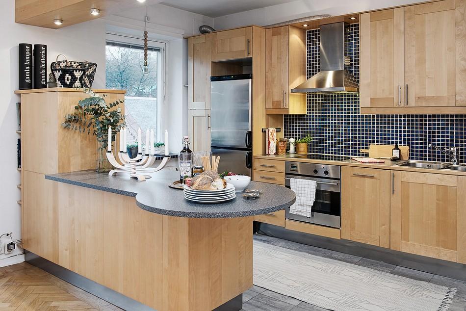 Планировка кухонного гарнитура