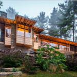Современное кантри для загородного дома